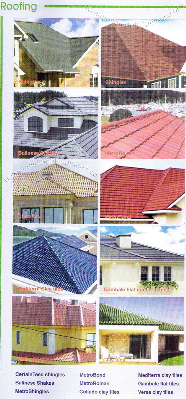 Roofing Shingles For Sale >> Roofing Shingles, Balinese Shakes, Roman Clay, Flat Concrete Tiles Philippines