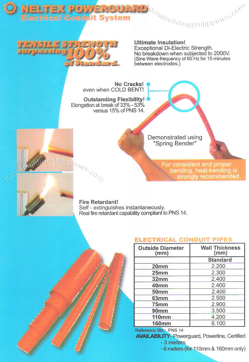 Powerguard Upvc Pipes For Electrical Conduit Systems