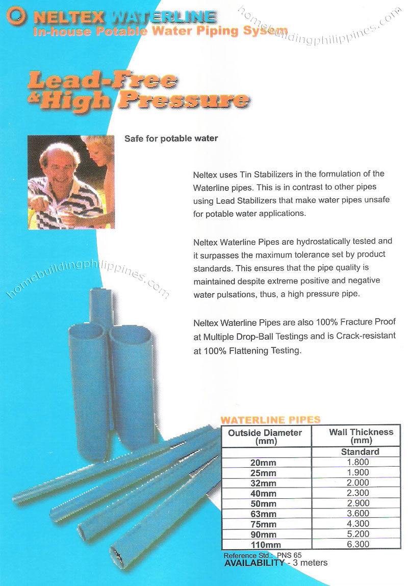 Waterline Upvc Pipes Lead Free Amp High Pressure For In