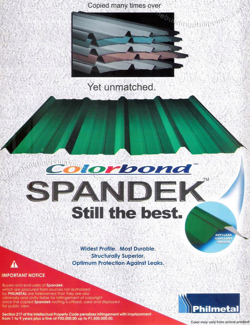 Spandek Wide Profile Metal Roofing Philippines