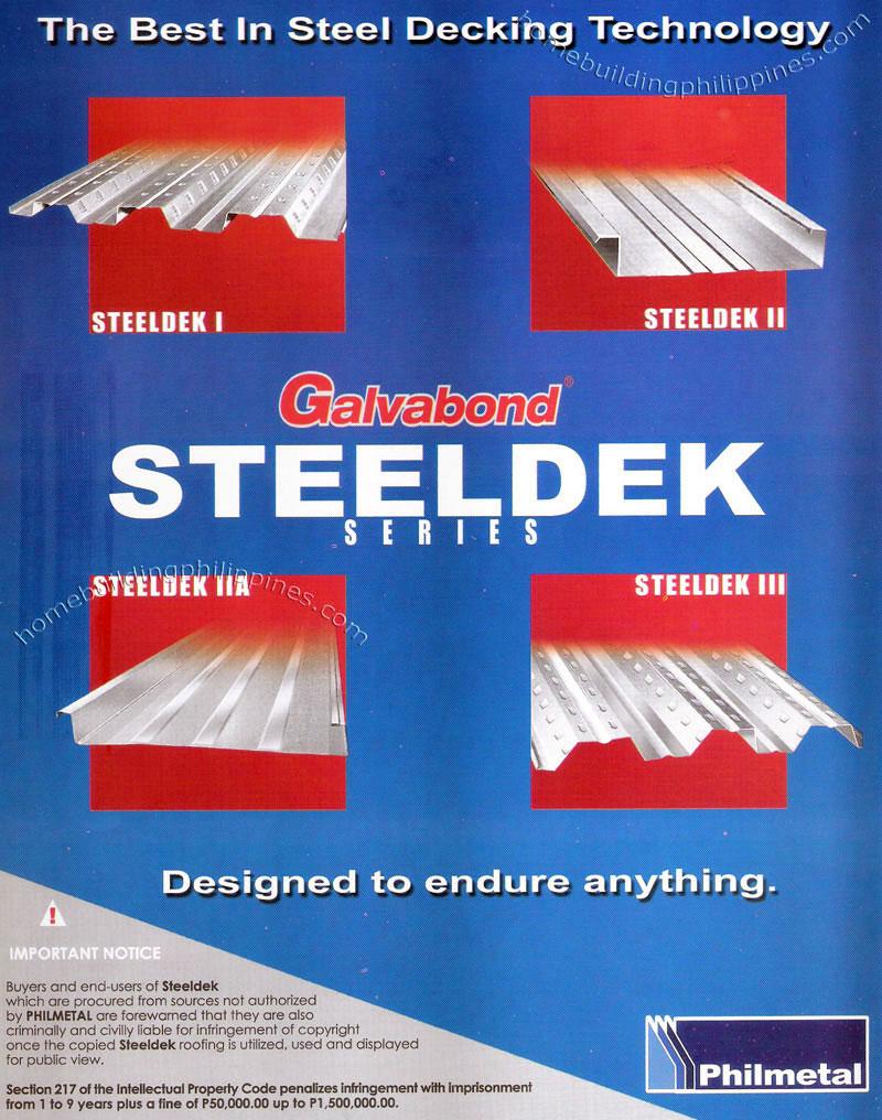 Steeldek Structural Steel Decking Philippines