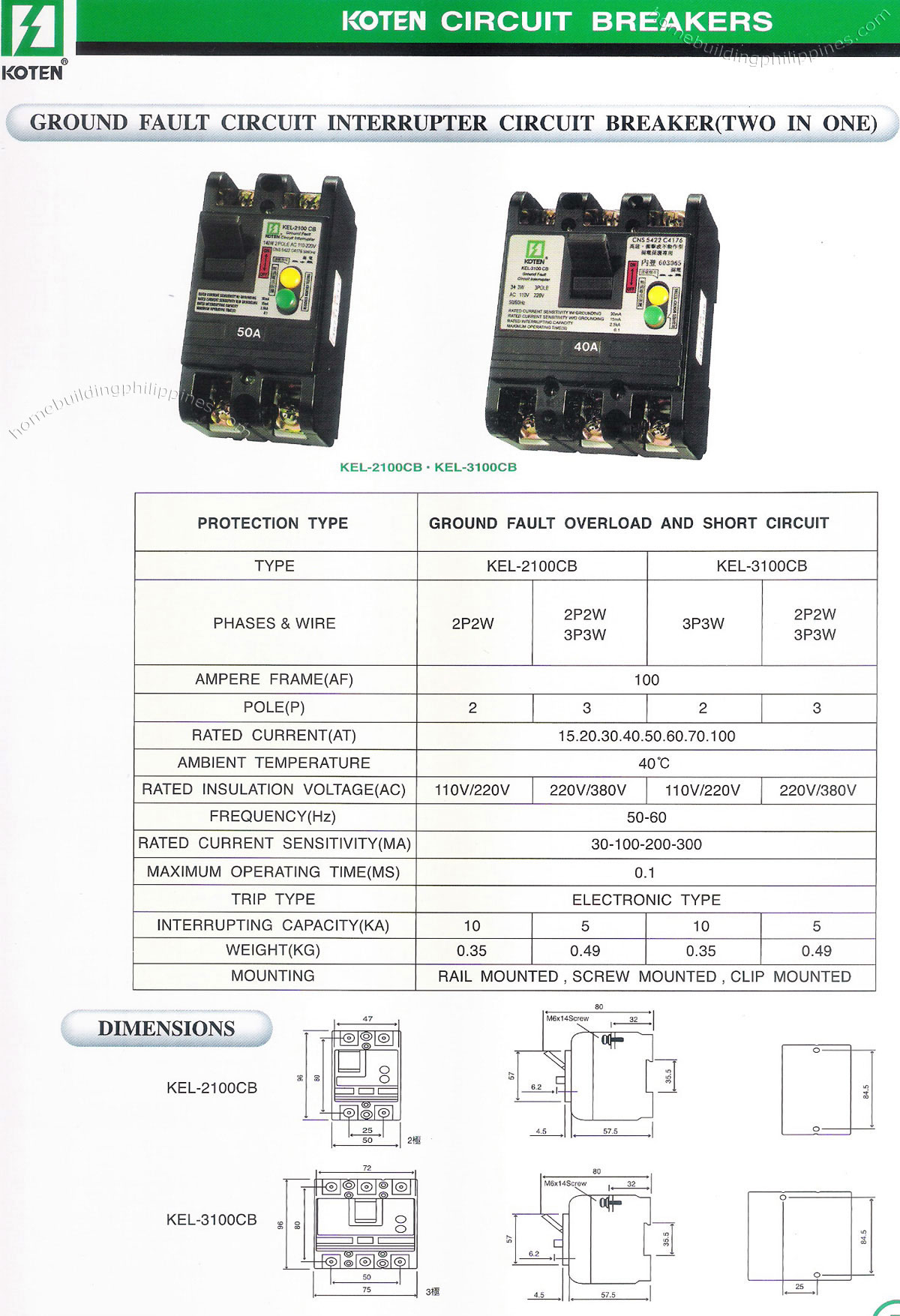 Ground Fault Circuit Interrupter Safety Outlet This Type Of Breaker Philippines Koten