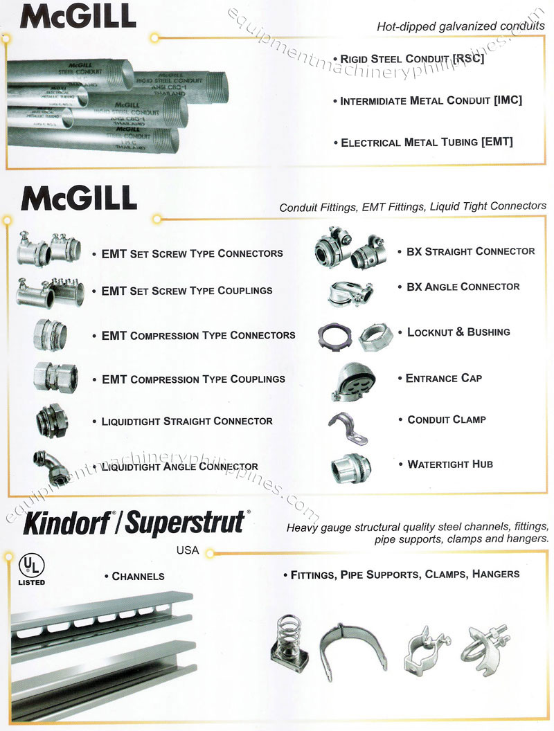 mcgill hot dipped galvanized conduits, conduit fittings, electrical 3-way switch light wiring diagram  outlet wiring diagram