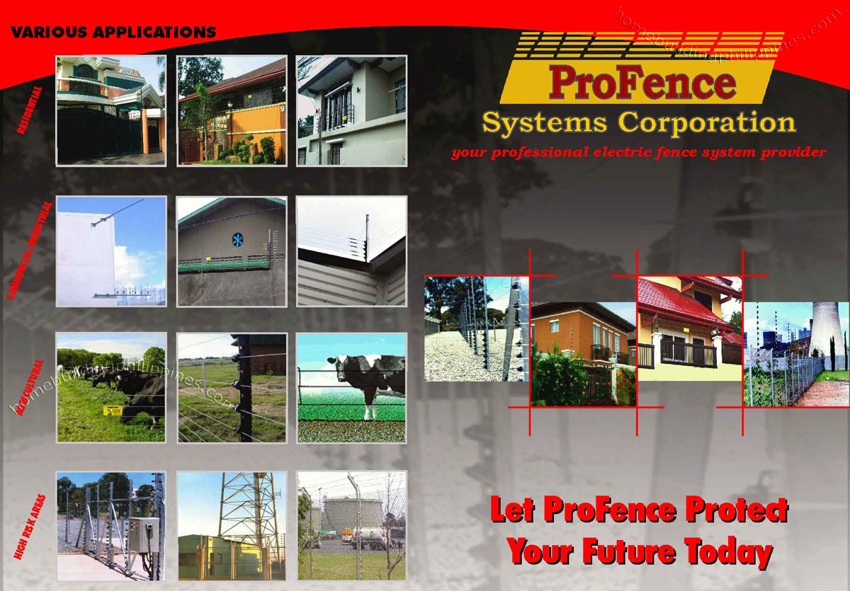 Electric Perimeter Security Fence By Profence Philippines