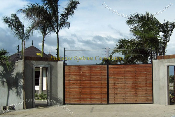 Electric Fence Actual Installation Pictures Philippines