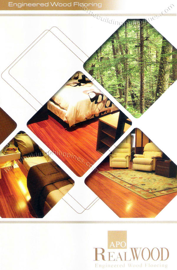 Apo realwood engineered wood flooring philippines for Engineered wood flooring philippines