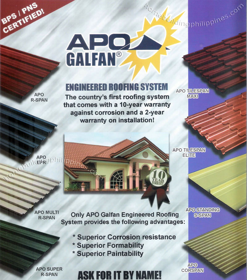 Metal Roofing Ceiling Amp Side Paneling Flooring By Puyat