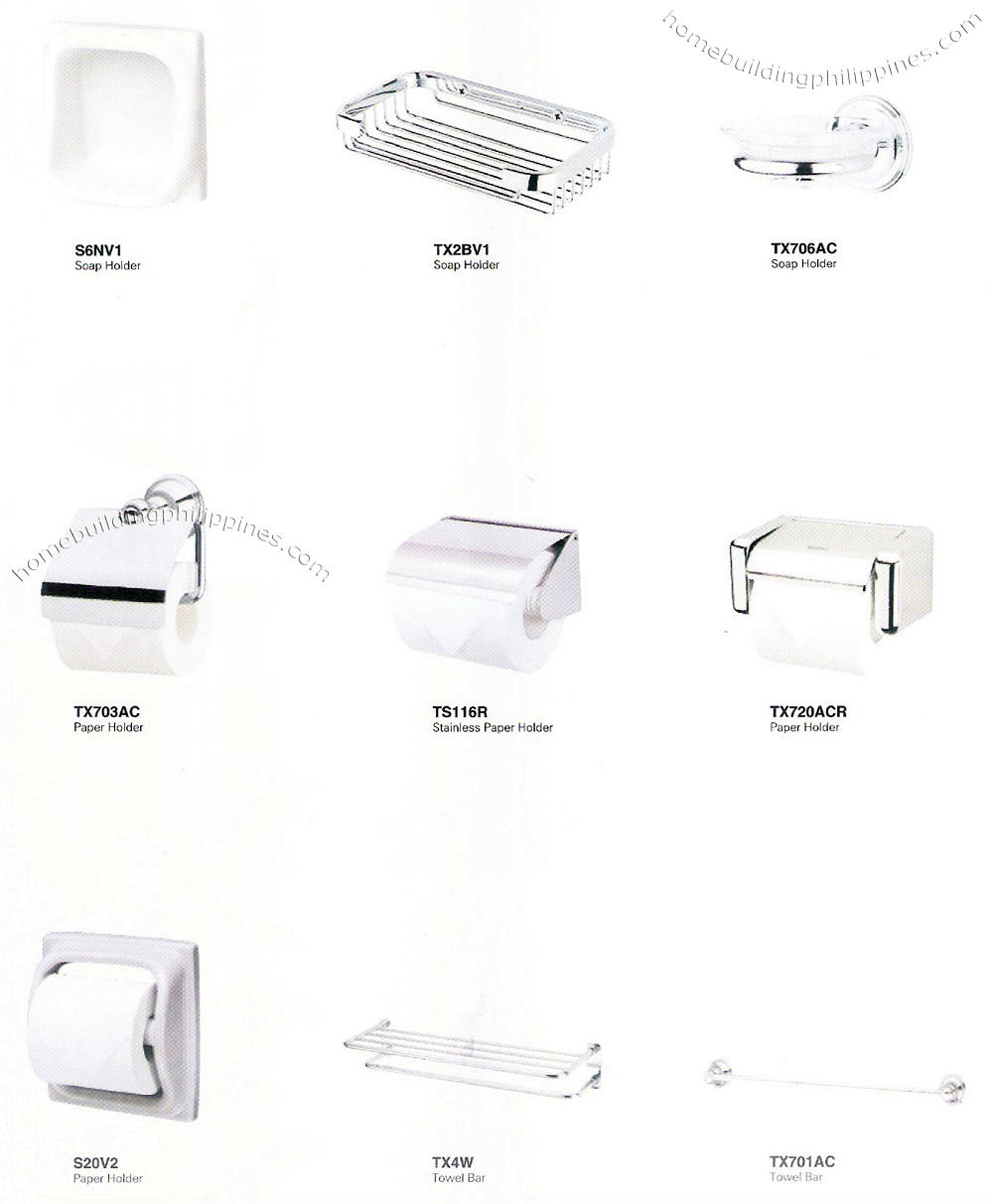 Bathroom Accessories Philippines bathroom accessories, soap/paper holder, towel bar philippines