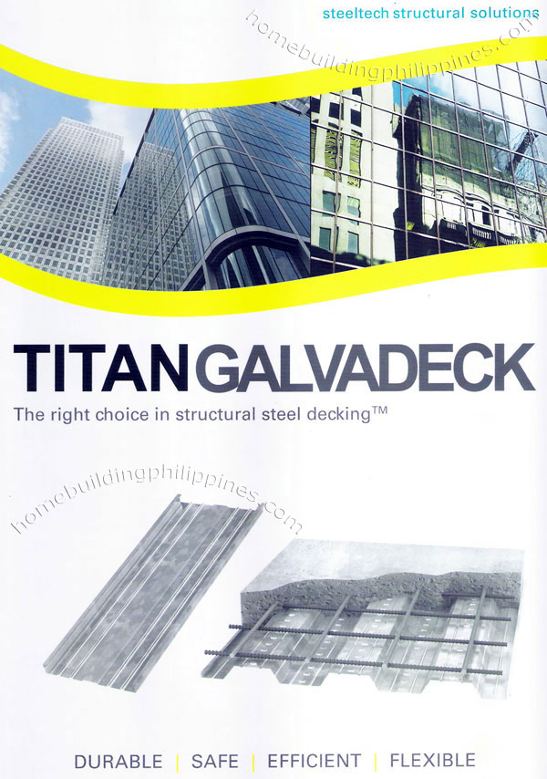 Titan Galvadeck Structural Steel Decking Durable Safe