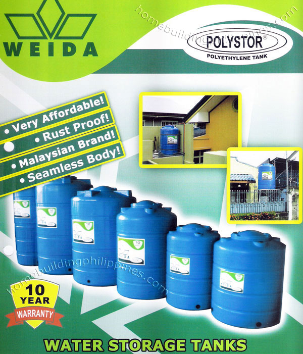 Water Tank - Residential Water Storage, Affordable, Rust