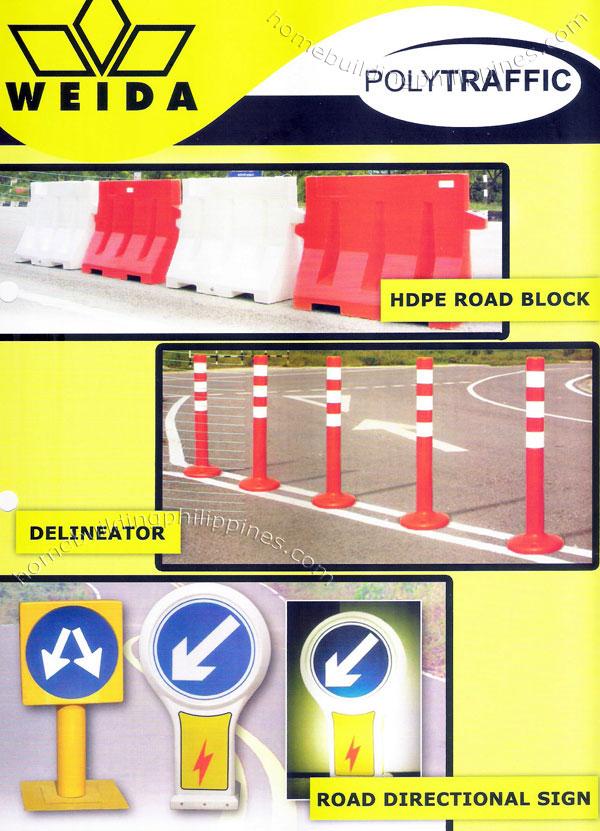 Polytraffic Road Traffic Control Device Hdpe Road Block