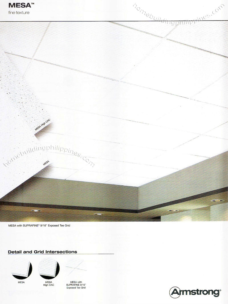 Armstrong Commercial Ceiling Mineral Fiber Mesa Philippines