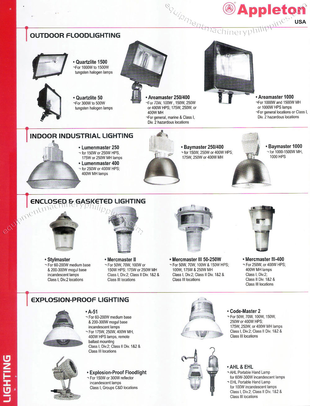 Philippines Leton Outdoor Floodlighting Indoor Lighting Enclosed And Gasketed Explosion Proof
