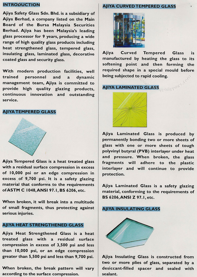 Tempered Glass Heat Strengthened Glass Curved Tempered