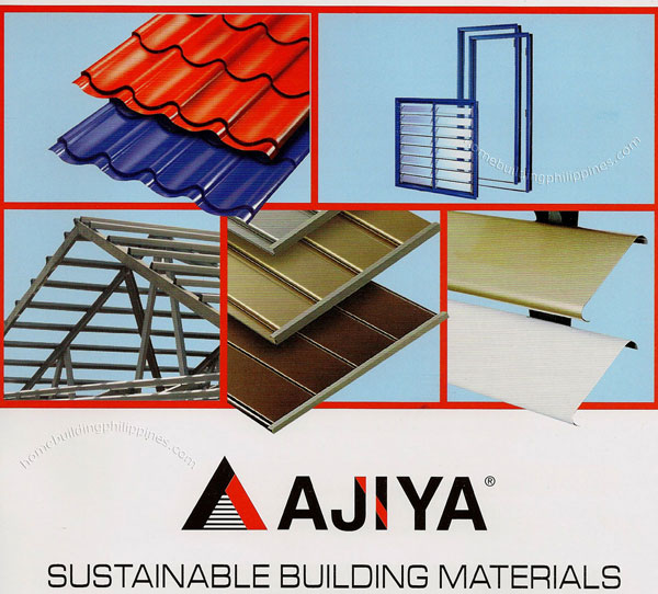 Ajiya sustainable building materials for Sustainable roofing materials