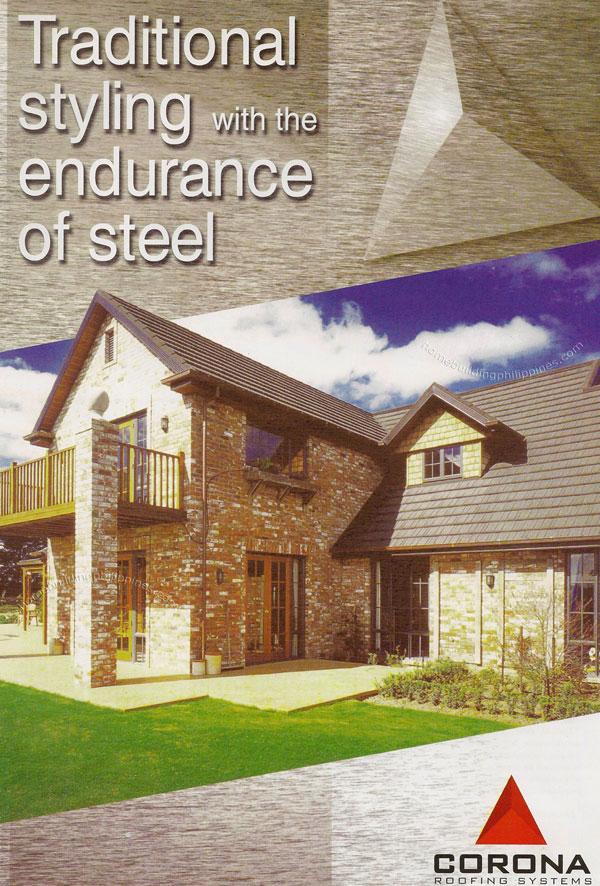 Corona Cedar Wood Shingles Look Steel Roofing