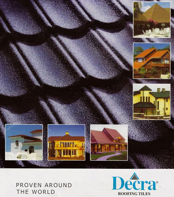 Decra Steel Roofing Tiles