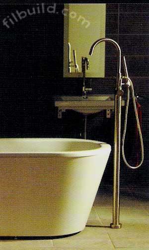 Bathtubs, Faucets, Toilets, Basins & Accessories by Bravat Philippines