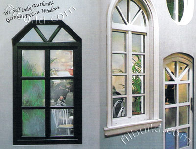 Pvc doors and windows by deutsche fenster philippines for Window in german