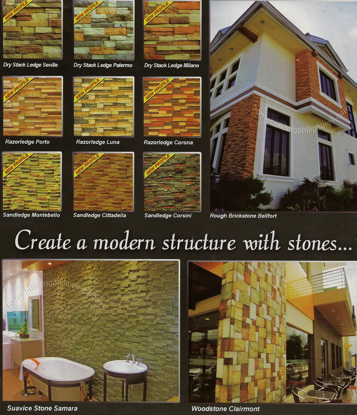 Decorative Stone Manufactured Architectural Wall Claddings