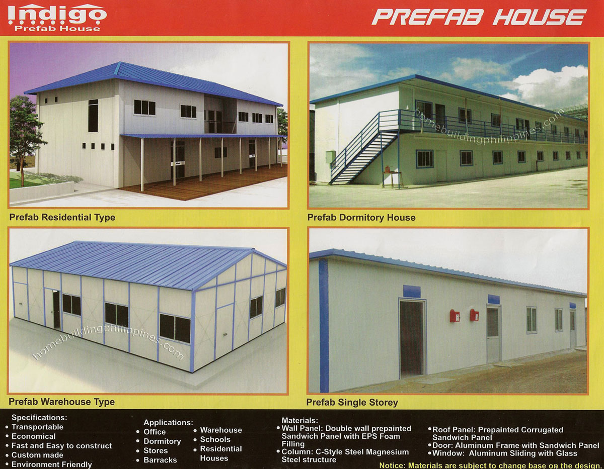 Prefab Residential Dormitory Warehouse Single Storey