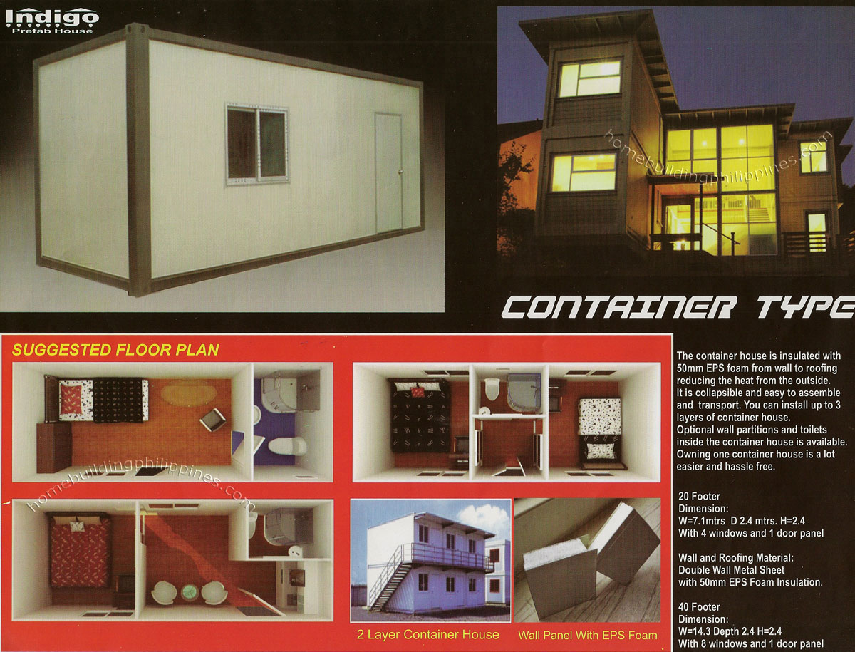 Prefabricated House Container Type