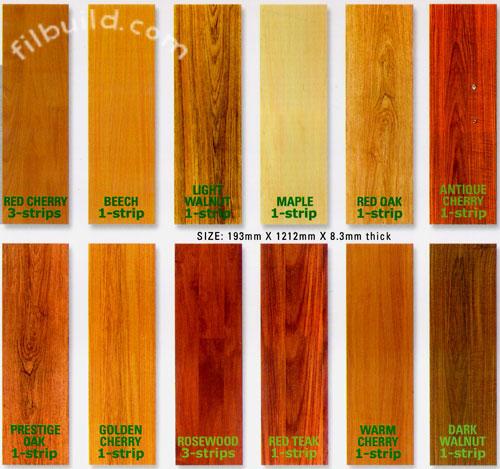 High Density Fiberboard Hdf Laminated Flooring By