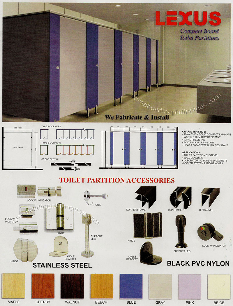 Compact Board Toilet Partitions Philippines - Pvc bathroom partitions