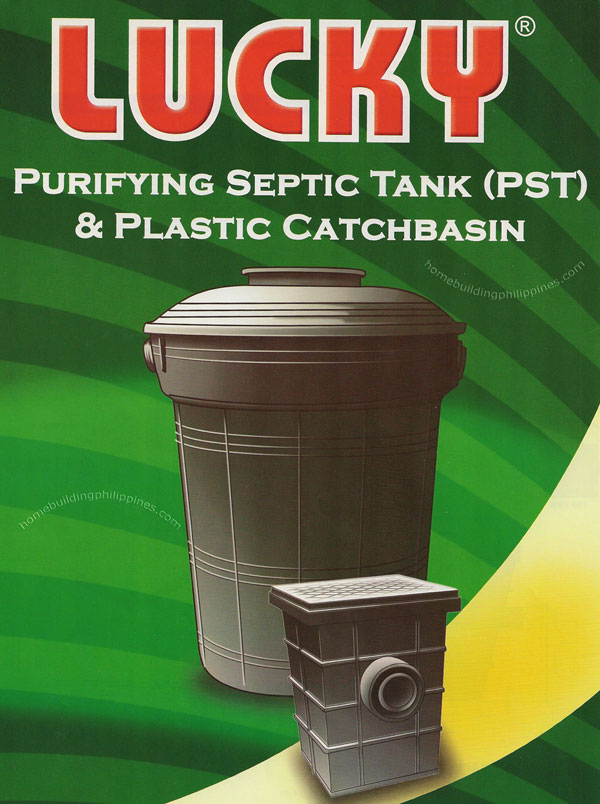 Purifying Septic Tank Plastic Catchbasin