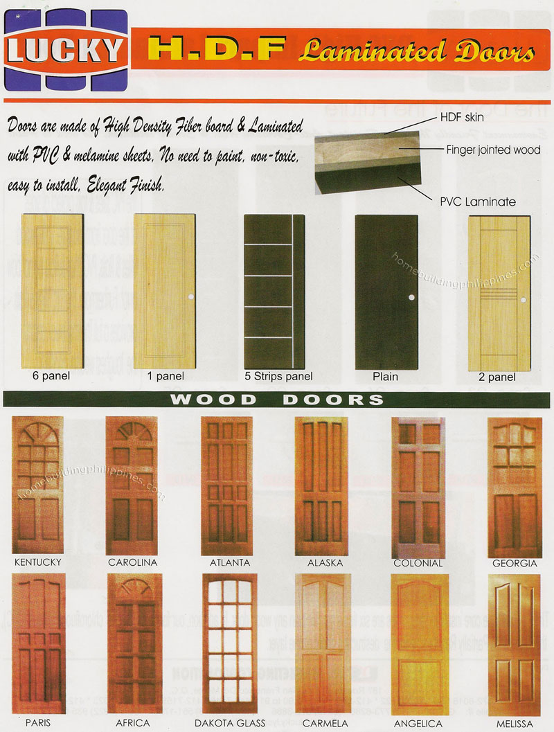 HDF Laminated Doors, Wood Doors