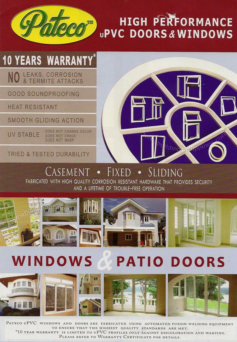 Upvc Doors And Windows Casement Fixed Sliding Windows