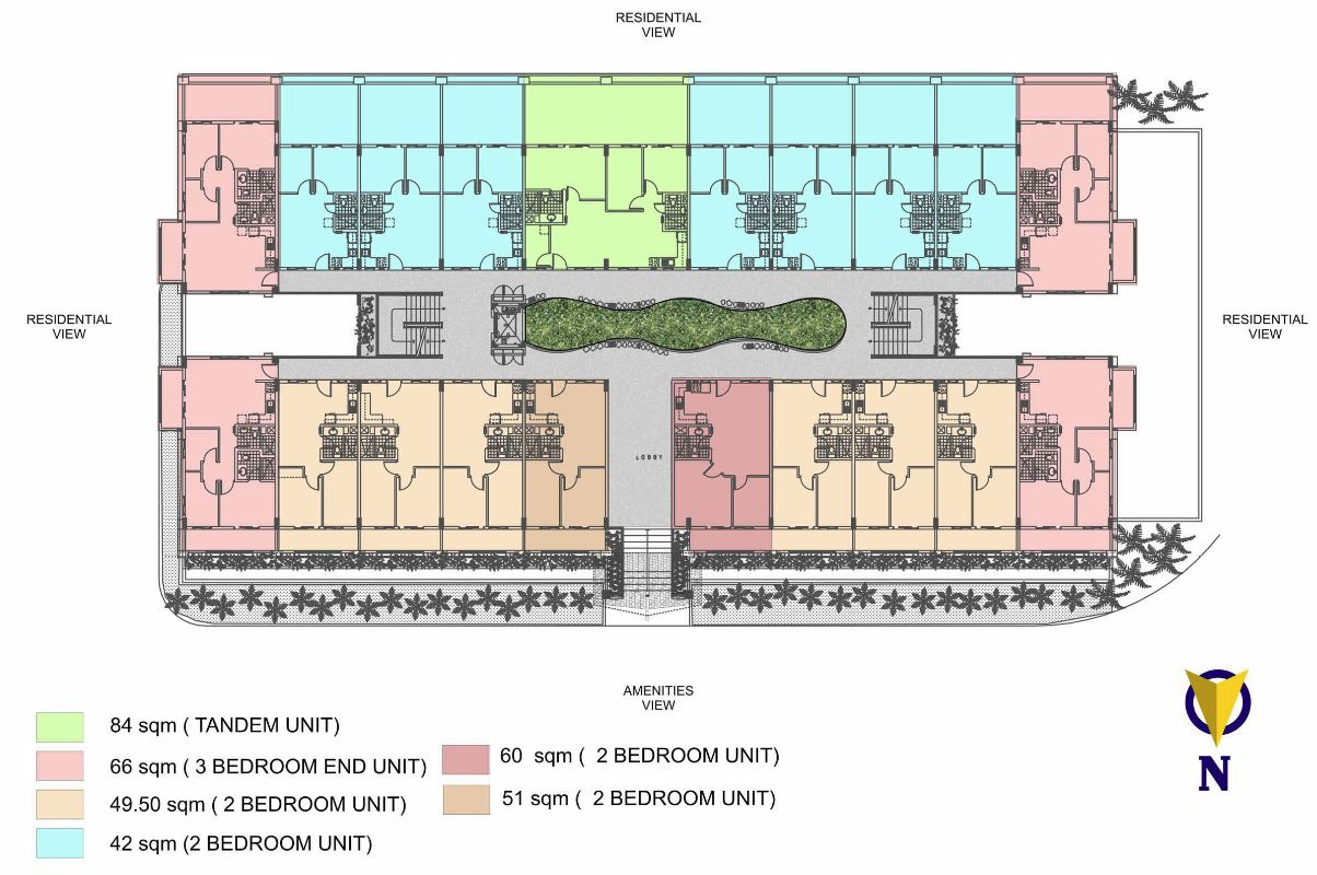 Condo sale at ohana place condominiums floor plans for Condominium floor plan