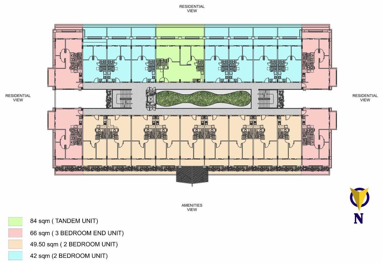 Condo Sale At Ohana Place Condominiums Floor Plans