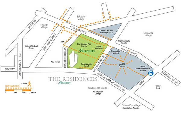 Condo Sale At Residences At Greenbelt In Makati City By