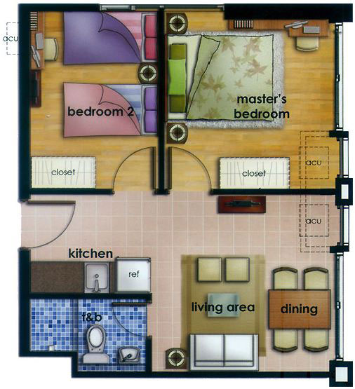 Condo Sale At The Linear Makati Condos Unit Floor Plans