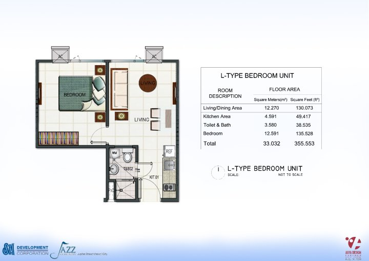 Condo sale at jazz residences in makati city by sm for 4 unit condo plans