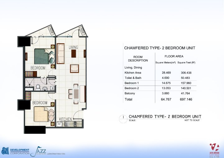 Condo Sale At Jazz Residences Condominium Unit Floor Plans