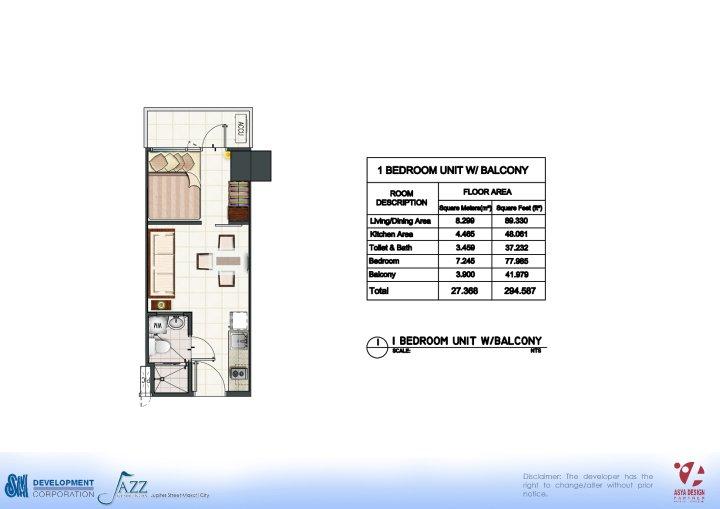 Jazz Residences Floor Plan Jazz Residences Unit Floor