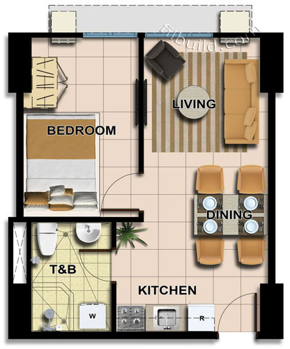 Condo sale at avida towers centera floor plans finishes for 1 bedroom condo design