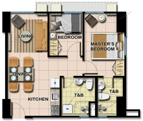 Condo Sale At Avida Towers Centera Floor Plans Finishes