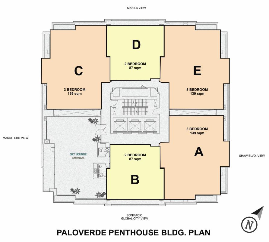 Condo sale at dansalan gardens condos floor plans for Palo verde homes floor plans