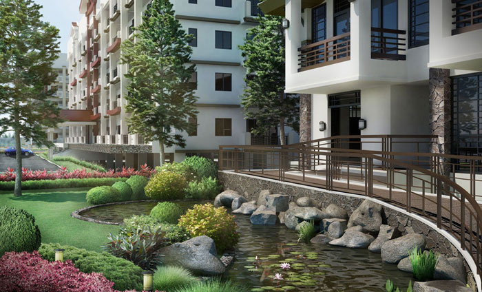 Condo sale at rhapsody residences in muntinlupa city by for Koi pond quezon city