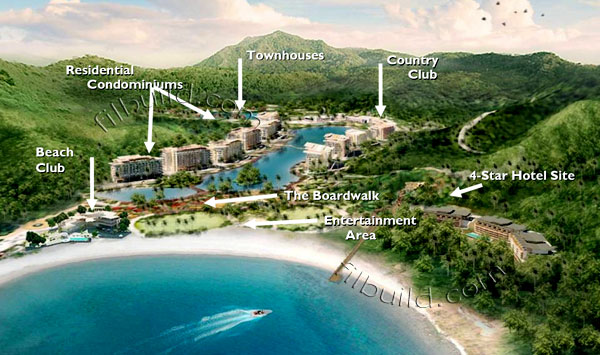 View Pico de Loro and other projects within the vicinity in a larger