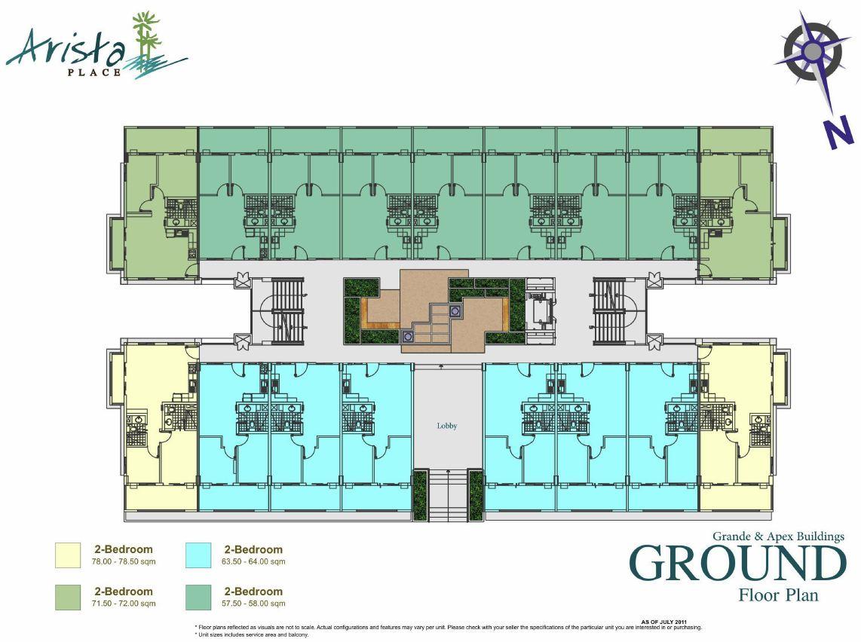 Condo Sale At Arista Place Condos Floor Plans