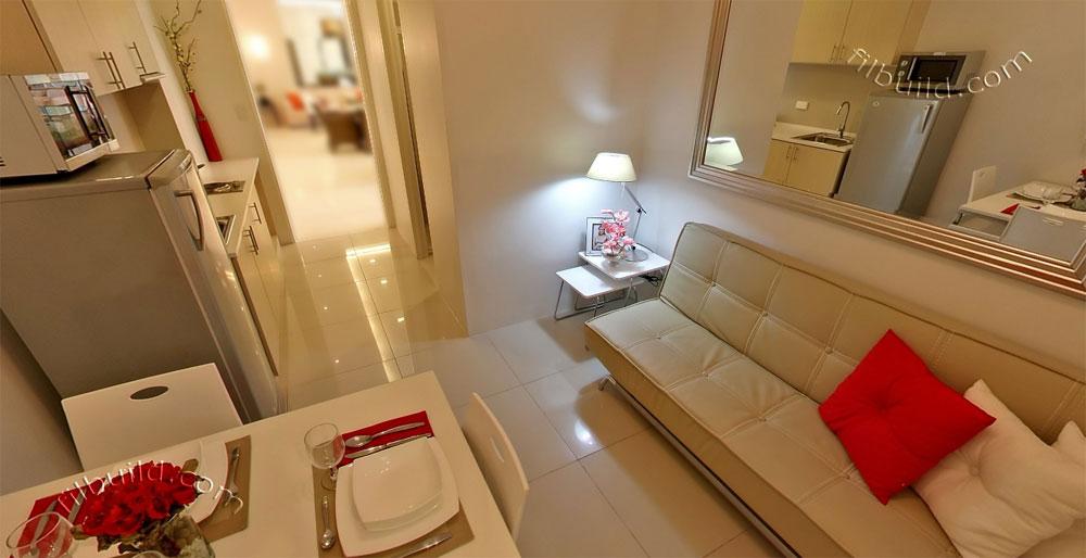 Condo sale at field residences condos photo gallery for Interior design of small condo unit