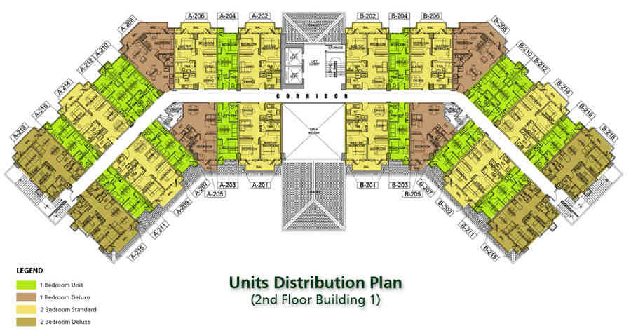 condo sale at field residences building floor plans
