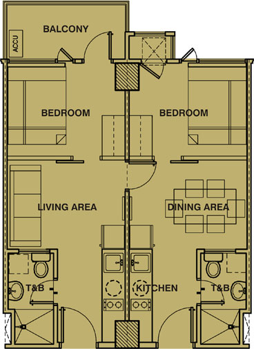Condo sale at field residences unit floor plans building 2 for Walk up apartment floor plans
