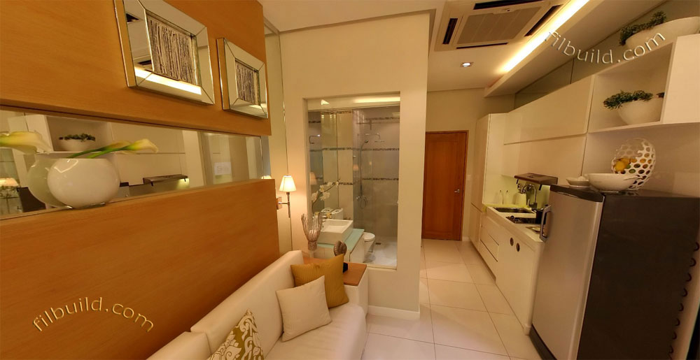 Condo sale at sea residences 1 bedroom condo unit photos for Condo interior design philippines