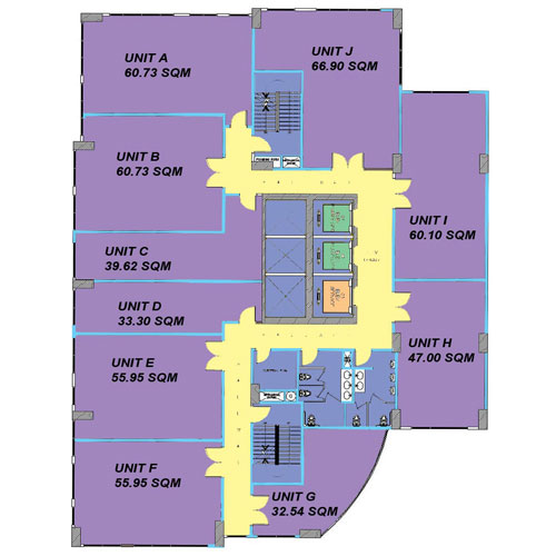 Condo sale at the currency condos floor plans for Typical office floor plan