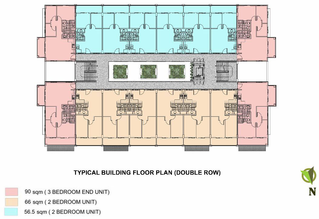 Condo Sale At Magnolia Place Condominiums Floor Plans